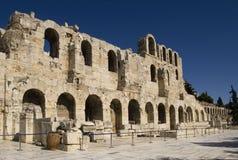 Entrée d'amphithéâtre à Athènes Image stock