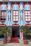 Entrée d'Art Hotel, Sankt Veit un der Glan, Autriche Image stock