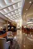 Entrée d'hôtel de luxe photo libre de droits