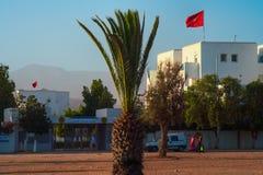 Entrée d'Ibn Zohr d'université d'Agadir image stock