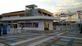 Entrée d'Osaka Aquarium Kaiyukan, Japon Images stock