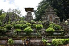 Entrée d'un temple de Hindouism dans Bali photographie stock libre de droits