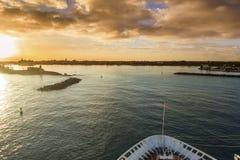 Entrée dans de Nassau photos libres de droits