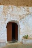 Entrée dans des Berbers de logement photographie stock