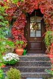 Entrée dans l'automne Photographie stock