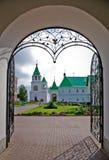 Entrée dans le monastère de sauveur Photos stock