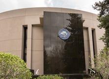 Entrée de bâtiment de Nevada State Legislature en Carson City photographie stock libre de droits