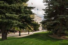 Entrée de bâtiment de Nevada State Legislature en Carson City image libre de droits