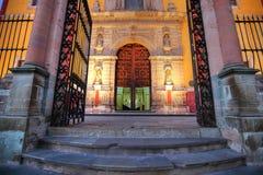 Entrée de basilique de notre Madame de Guanajuato Image stock