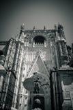 Entrée de cathédrale en Séville, Espagne, l'Europe image libre de droits