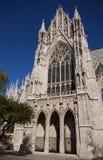 entrée de cathédrale gothique photos stock