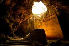 Entrée de caverne Images stock
