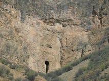Entrée de caverne Photo stock