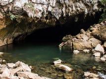 Entrée de caverne de Konglor images libres de droits