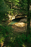 Entrée de caverne de Styx de fleuve Photo stock