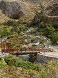 Entrée de caverne près de Tarma Photographie stock libre de droits