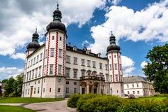 Entrée de château de Vrchlabi, République Tchèque Image stock
