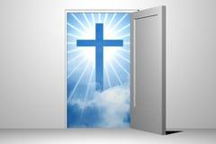 Entrée de ciel de Dieu illustration stock