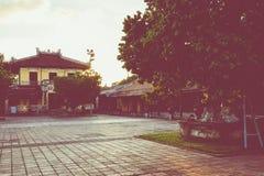 Entrée de citadelle Royal Palace impérial de dynastie de Nguyen dedans photo libre de droits