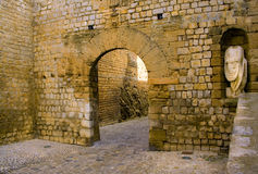 Entrée de Dalt Vila de serie d'Ibiza Image stock