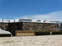 Entrée de fort d'Acapulco images libres de droits