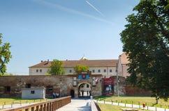 Entrée de forteresse d'Oradea Images libres de droits