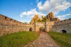 Entrée de forteresse de Belogradchik Photo libre de droits