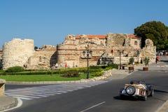 Entrée de forteresse de Nessebar Photos stock