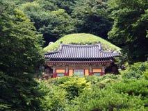 Entrée de grotte de Seokguram, Corée du Sud Photographie stock libre de droits