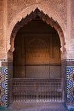 Entrée de Kasbah Photographie stock libre de droits