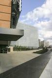 Entrée de la construction Bruxelles de Commission européenne Photographie stock