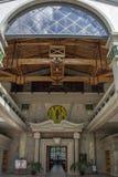 Entrée de la crypte du sanctuaire de Bento da Porta Aberta de saint Photos libres de droits