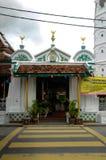 Entrée de la mosquée ou du Masjid Tengkera de Tranquerah Images stock