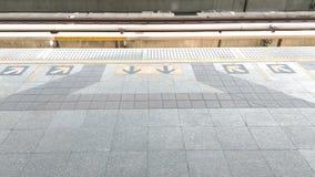 Entrée de métro Images libres de droits