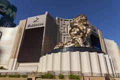 Entrée de MGM à Las Vegas, nanovolt le 20 mai 2013 Photos libres de droits