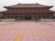 Entrée de monastère bouddhiste Photos stock