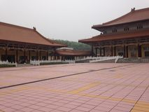 Entrée de monastère bouddhiste Image libre de droits