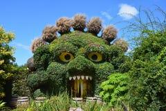 Entrée de monstres d'usine chez Terra Botanica Photos stock