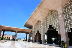 Entrée de mosquée Photo libre de droits