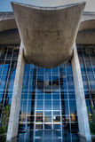Entrée de palais de justice à Brasilia images stock
