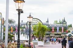 Entrée de parc d'Europa dans la rouille, Allemagne Images stock