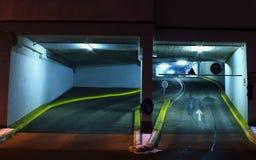 Entrée de parking Image libre de droits