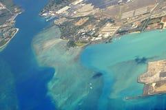 Entrée de Pearl Harbor Photo libre de droits