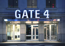 Entrée de porte au Yankee Stadium Image stock