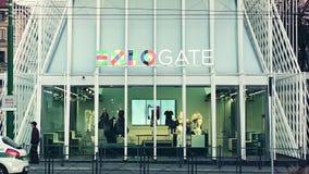 Entrée de porte de l'expo 2015 clips vidéos