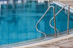 Entrée de prise à la piscine Photo libre de droits