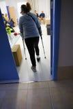 Entrée de salle d'attente d'hôpital Photos libres de droits