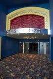 Entrée de salle de cinéma Photos libres de droits