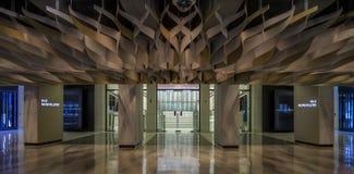 Entrée de Salle Wilfrid-Pelletier Image stock