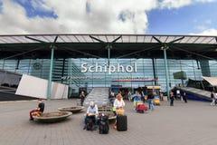 Entrée de Schiphol Images libres de droits